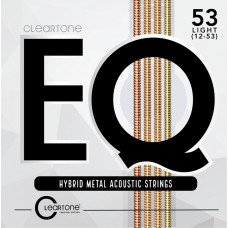 Cleartone 7812 EQ Hybrid Metal Acoustic Light 12-53