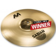 "Crash Sabian 16"" AA Raw Bell Crash Brilliant"