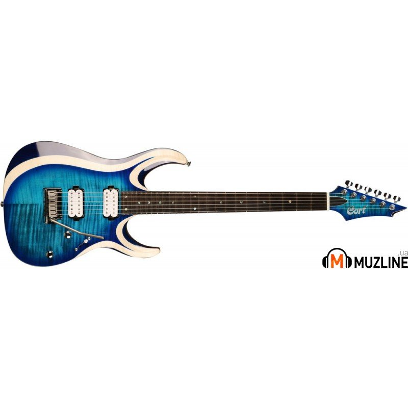 Электрогитара Cort X700 Duality (Light Blue Burst)