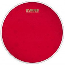 "Evans B14HR 14"" Hydraulic Red Coated Snare Batter"