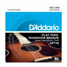 D`Addario EFT16 Flat Tops Light 12-53