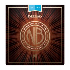 D`Addario NB1253 Nickel Bronze Light 12-53
