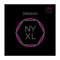 D`Addario NYXL0980 NYXL Super Light 8-String 09-80