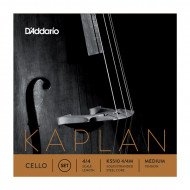 Струны для виолончели D`Addario KS510 4/4M Kaplan Cello Strings 4/4 Medium