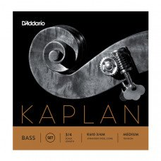 D`Addario K610 3/4M Kaplan Double Bass 3/4 Medium
