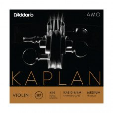 D`Addario KA310 4/4M Kaplan Amo Violin Strings 4/4 Medium