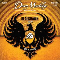 Dean Markley 8020 Blackhawk Acoustic 80/20 Bronze ML 12-53