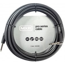 Dunlop DCIX20R MXR Pro Series Instrument Cable 20ft Straight/Right