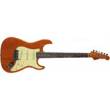 Электрогитара G&L Legacy Clear Orange, 3-ply Vintage Creme rosewood
