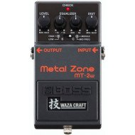 Гитарная педаль Boss MT-2W Waza Craft Metal Zone Distortion