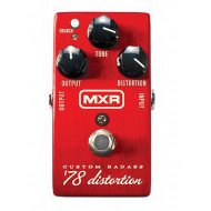 Гитарная педаль Dunlop M78 MXR Custom Badass 78 Distortion