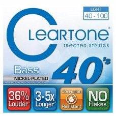 Cleartone 6440 Bass Nickel-Plated Light 40-100