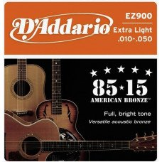 D'Addario EZ900 Bronze Extra Light 10-50
