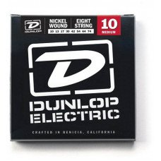 Dunlop DEN1074 Electric Medium 8-String 10
