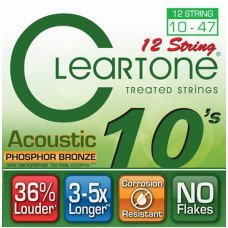 Cleartone 7410-12 Acoustic Phosphor Bronze 12 String Ultra Light 10-47