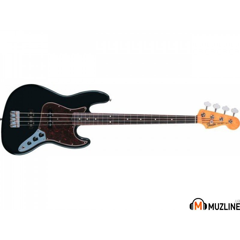 Бас-гитара Fender 60's Jazz Bass RW BLACK