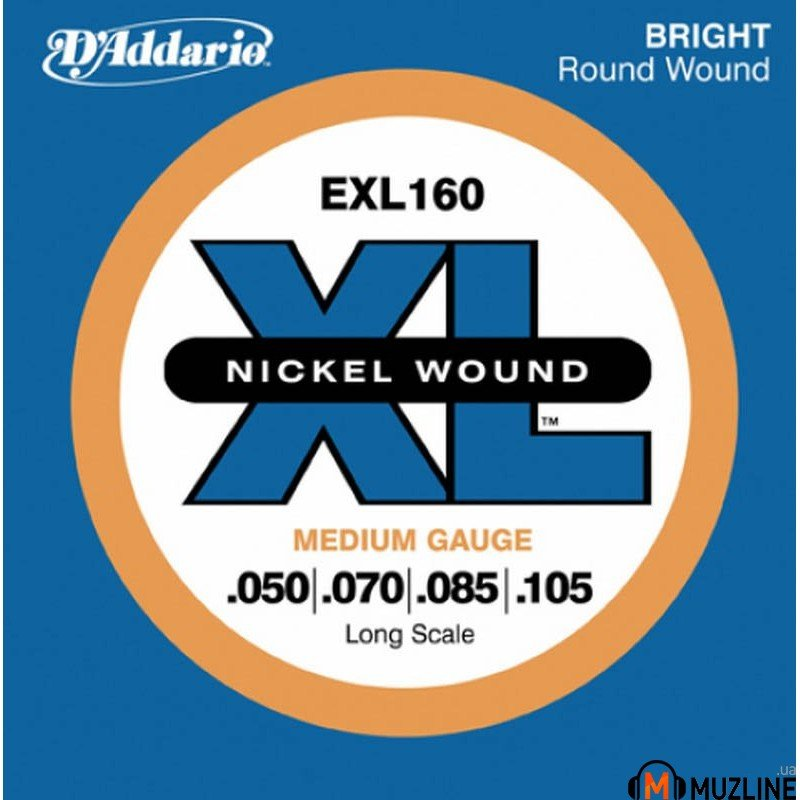 D'Addario EXL160 XL Medium 50-105