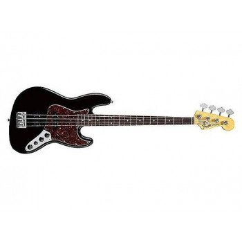 Бас-гитара Fender Deluxe Power Jazz Bass RW BK