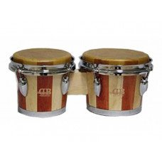 "DB Percussion BOBCS-900, 6.5"" & 7.5"" Wine Red"
