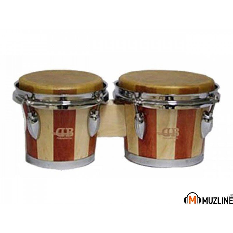"Бонго DB Percussion BOBCS-900, 6.5"" & 7.5"" Wine Red"
