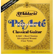 D'Addario EJ46C Pro-Arte Composites Hard Tension