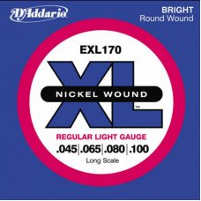 D'Addario EXL170 XL Regular Light 45-100