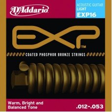 D'Addario EXP16 Phosphor Bronze Light 12-53
