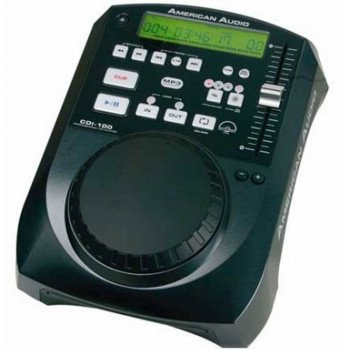 Проигрыватель CD/DVD/MD American Audio CDI-100 MP3
