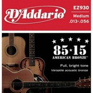 D'Addario EZ930 Bronze Medium 13-56