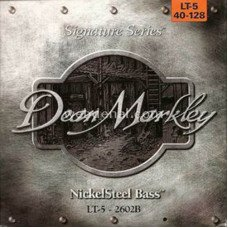 Dean Markley 2602B Nickelsteel Bass LT5 40-128