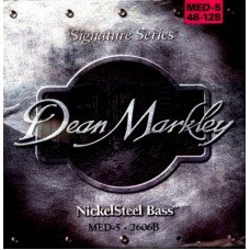 Dean Markley 2606B Nickelsteel Bass MED5 48-128