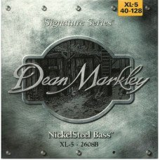 Dean Markley 2608B Nickelsteel Bass XL5 40-128