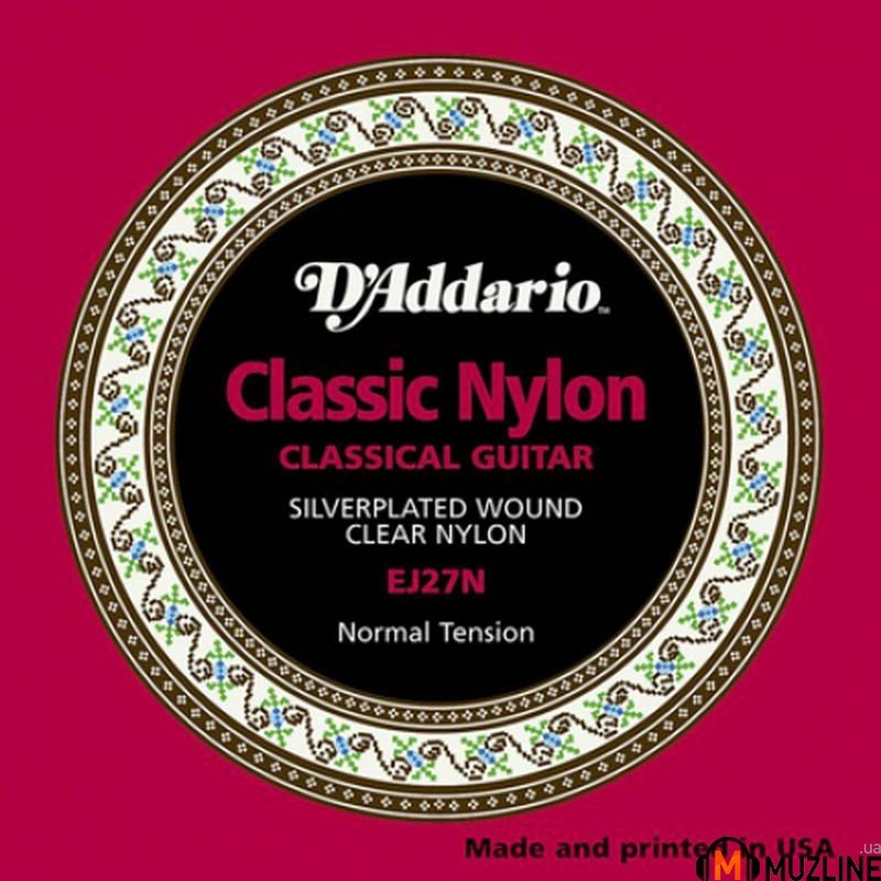D'Addario EJ27N Student Classics Normal Tension