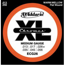 D'Addario ECG26 Xl Xl Chromes Medium 13-56