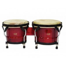 "DB Percussion BOBBS-500, 6.5"" & 7.5"" Wine Red"