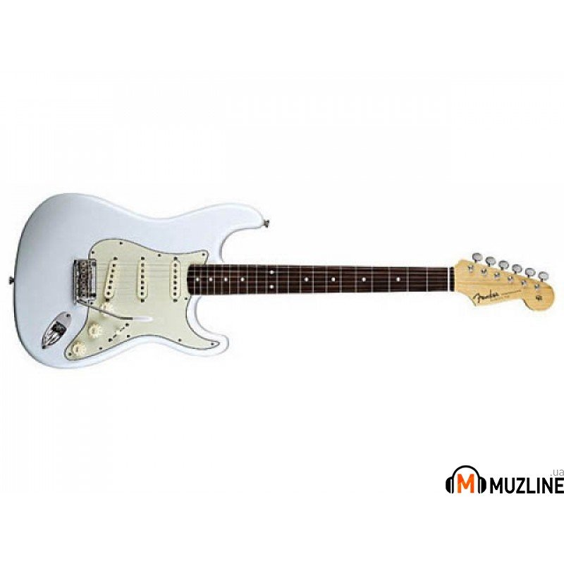 Электрогитара Fender 60's Classic Player Stratocaster RW Custom Pale Sonic Blue