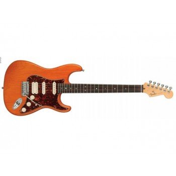 Электрогитара Fender American Deluxe Stratocaster HSS MN Amber