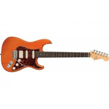 Электрогитара Fender American Deluxe Stratocaster HSS RW QMT AM