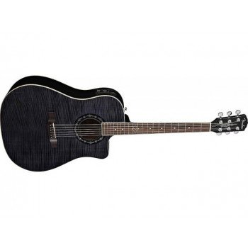Электроакустическая гитара Fender Tbucket 300SCE Flame Maple Top Black