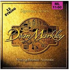 Dean Markley 2204 Vintage Bronze Acoustic ML 12 11-50
