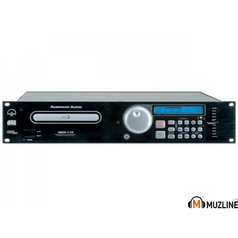 Проигрыватель CD/DVD/MD American Audio MCD 110