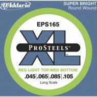 D'Addario EPS165 XL Pro Steels Reg Light Top Med Bottom 45-105