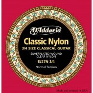 D'Addario EJ27N 3/4 Student Classics Normal Tension 3/4