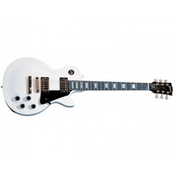 Электрогитара Gibson Les Paul Studio Alpine White Gold Hardware