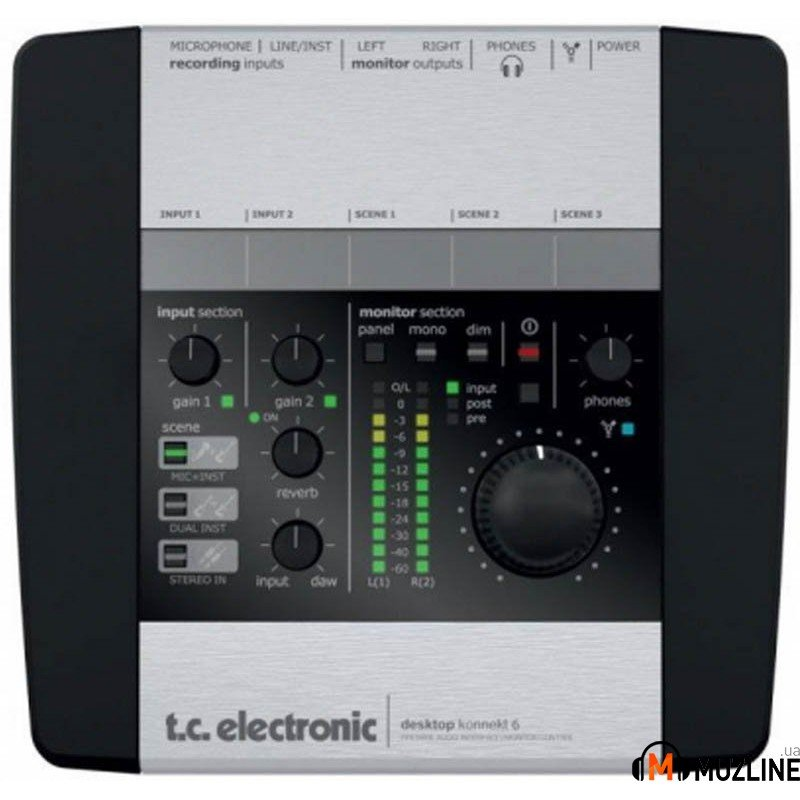 FireWire звуковая карта TC Electronic Desktop Konnekt 6