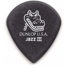 Dunlop 571P1.4 Gator Grip Jazz III Pick 1.4 (6 Pack)