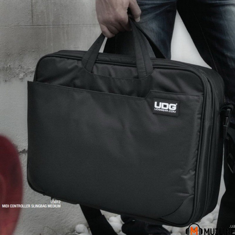 Кейс UDG MIDI Controller SlingBag Medium Black/Orange