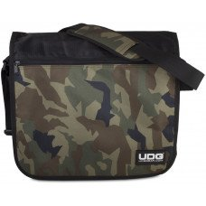 UDG Ultimate CourierBag Black/Camo, Orange inside