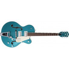 """Gretsch G5410T LTD Electromatic """"Tri-Five"""" Bigsby Ocean Turquoise/Vintage White"""