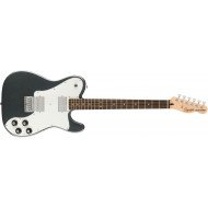 Электрогитара Fender Squier Affinity Series Telecaster Deluxe HH LR Charcoal Frost Metallic